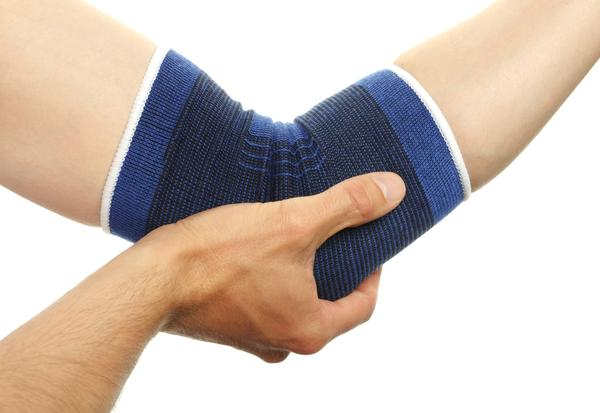 What are the symptoms of a sprained elbow my symptoms are my arm is very painful to bend and unbend at the elbow?