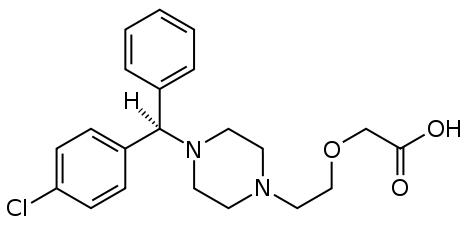 Is there a good allergy medication similar to xyzal (levocetirizine) that doesn't cause weight gain?