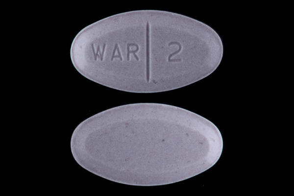 What gout medications can be taken with warfarin?