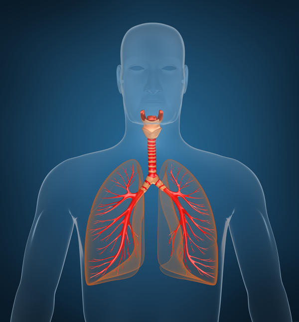 Is lung capacity at 53% dangerous?