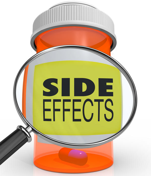 What are common barium swallow side effects?