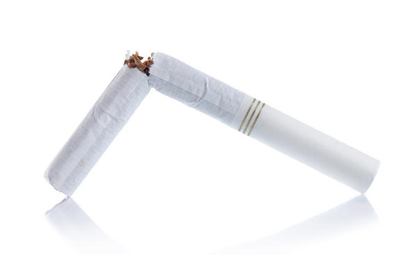 Does cigarette smoking have any health benefits at all?