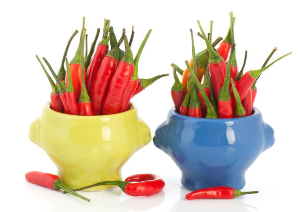 Are there any health benefits from eating spicy foods like indian?