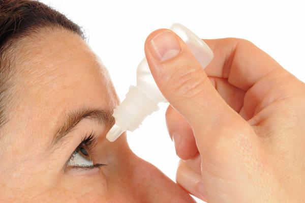 "When you have pink-eye can you use ""red eye"" drops along with your pink-eye medication?"
